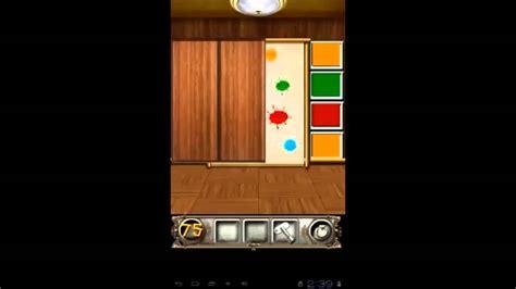 100 floors 75 walkthrough 100 doors floors escape level 75 walkthrough
