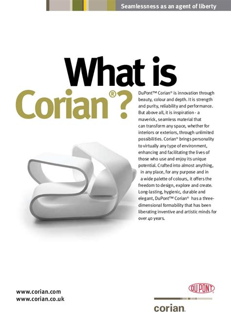 What Is Dupont Corian what is corian