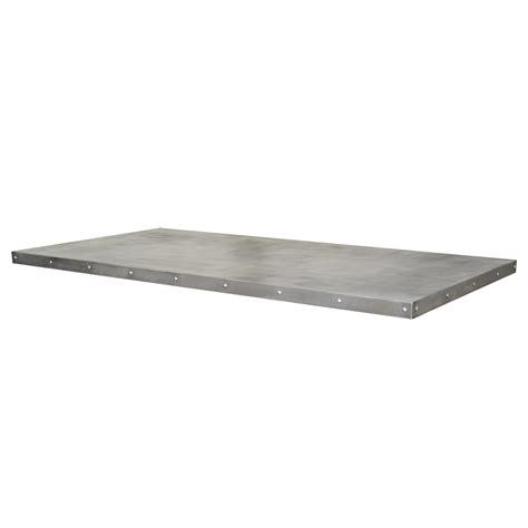zinc table tops custom metal home