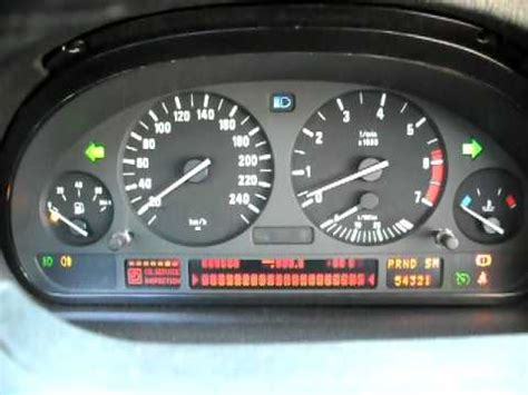 2002 bmw x5 4.4 e53 instrument cluster gauge test #2 youtube
