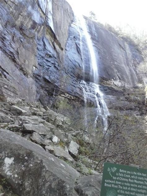 hikory nut waterfall at chimney rock,nc picture of