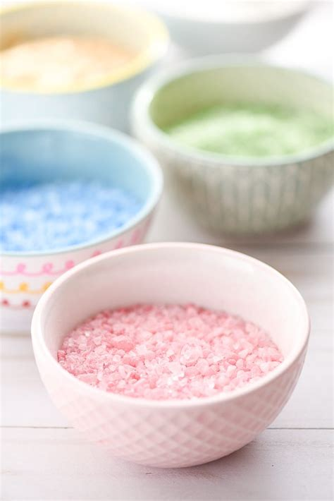 Handmade Bath Salts - bath salts ornaments
