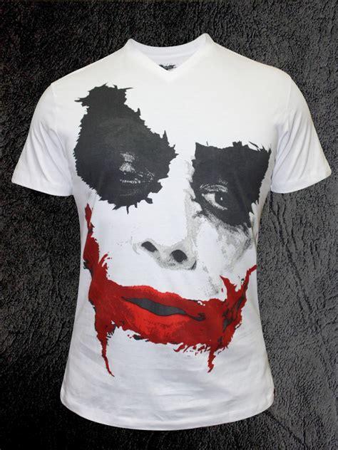 Tshirt Joker buy t shirts joker v neck half sleeve