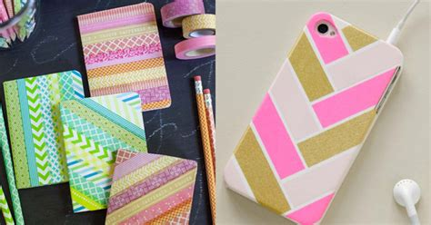 diy washi tape crafts diy projects for teens