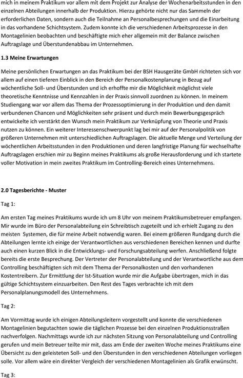 Berichtsheft Vorlage Praktikum Pdf tagesbericht praktikum vorlage pdf 28 images