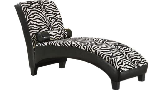 zebra chaise lounge chair zebra fabric black lounge chaise chair withpillow plastic