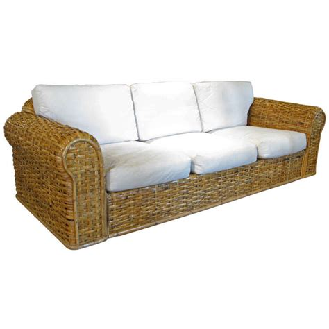 Rattan Sleeper Sofa Rattan Sofas Best 25 Rattan Sofa Ideas On Pinterest Thesofa