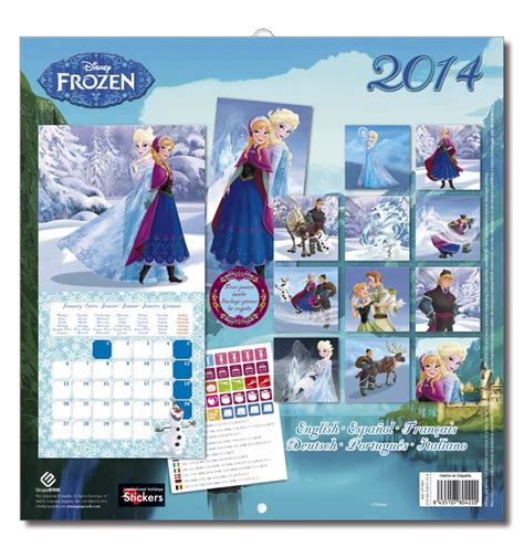 disney frozen calendar 2015 frozen calendar elsa and anna photo 35996676 fanpop