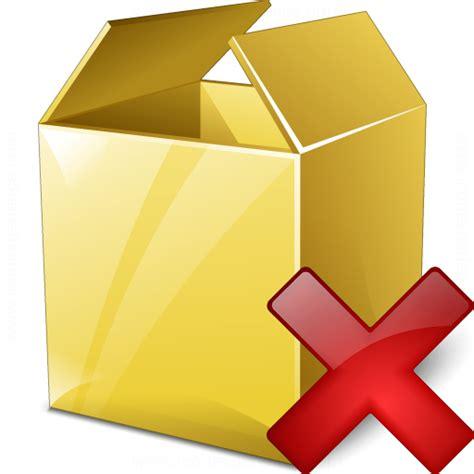IconExperience » V-Collection » Box Delete Icon