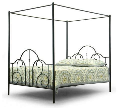 Modern Canopy Bed Modern Canopy Metal Bed