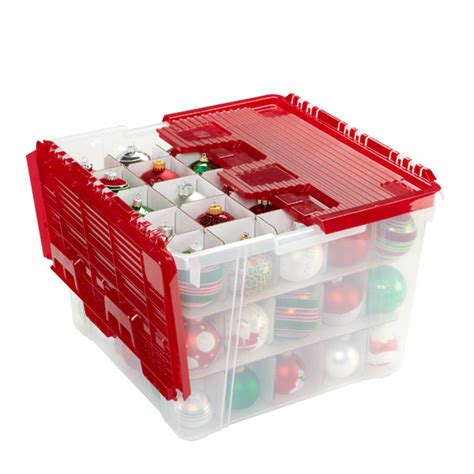 christmas ornament storage containers on sale eki riandra