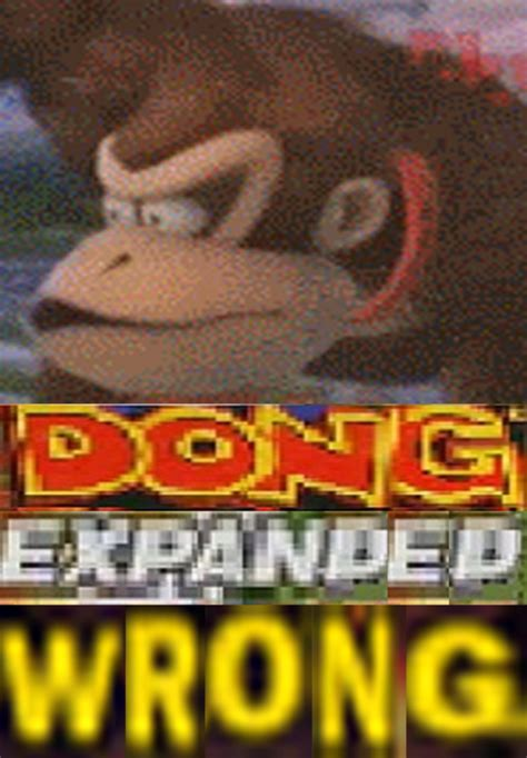 dong expanded wrong expand dong   meme
