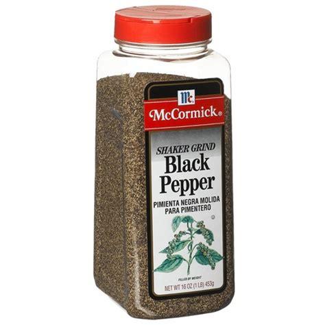 black pepper mccormick black pepper shaker seasoning 2 pound