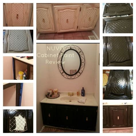 nuvo cabinet paint reviews nuvo cabinet paint review kitchen redo