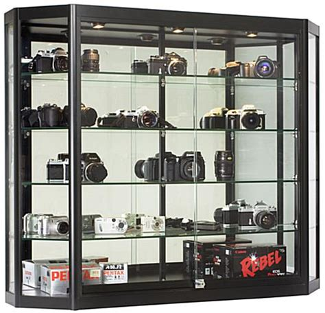trophy display cabinets with glass doors purchase stylish trophy cases for commercial use from our