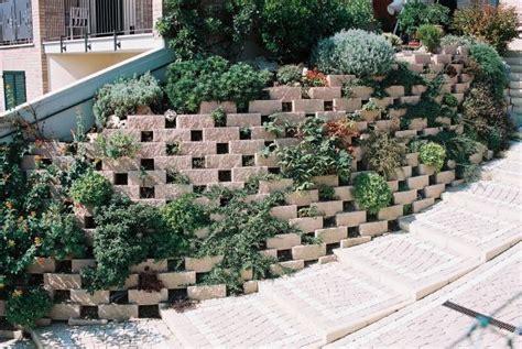 muro fiorito ecoblocco pietra edilblok