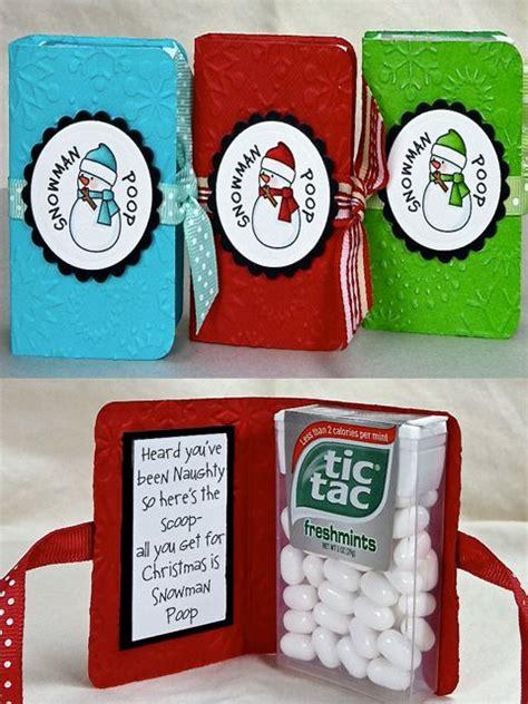 Handmade Secret Santa Gifts - snowman gift idea or idea for
