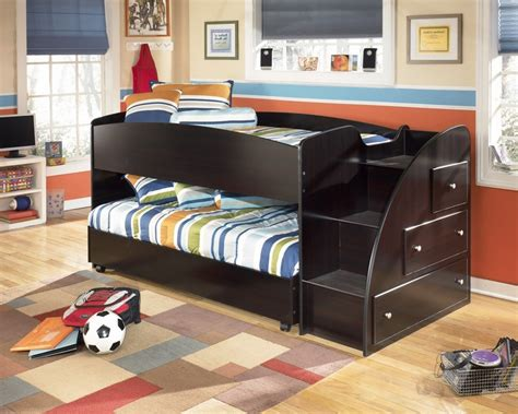 embrace loft bedroom set embrace youth right twin over twin loft bed from ashley