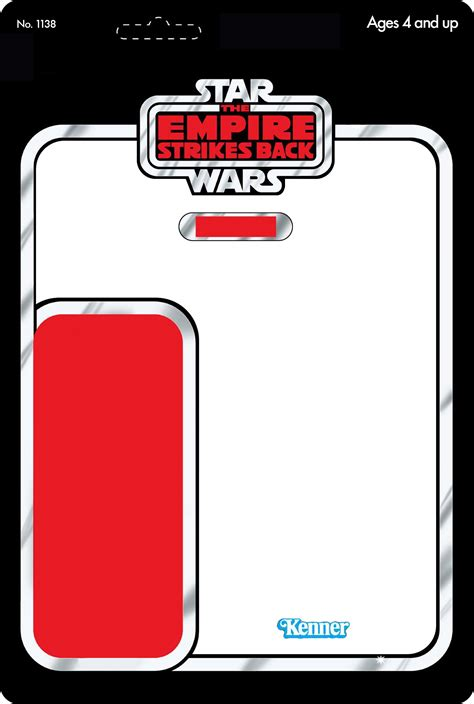 wars figure card template all sizes vintage cardback template flickr