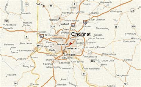 cincinnati ohio map usa cincinnati location guide