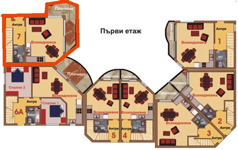 two bedroom semi detached house plan furnished 2 bedroom semi detached house 3 km from albena