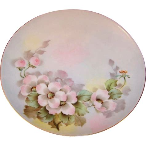 Cabinet Plates by Pink Floral Bohemian Cabinet Plate From Ruthsredemptions