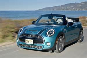 Convertable Mini Cooper 2016 Mini Cooper S Convertible Review