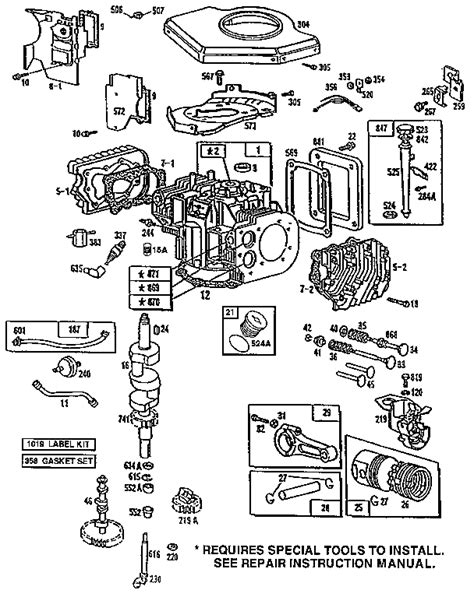 BRIGGS AND STRATTON ENGINE MANUAL 422707 - Auto Electrical