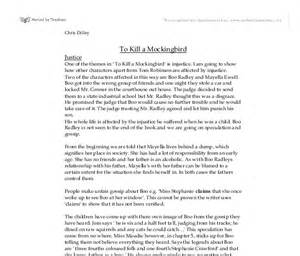 Essay On To Kill A Mockingbird by Essay Introduction To Kill A Mockingbird