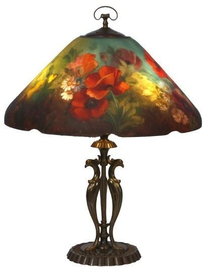 handel painted ls for sale handel painted poppy table l to light the way at
