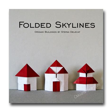 Origami Building - folded skylines origami buildings