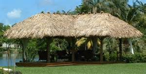 tiki hut roofing roofing materials tiki hut roof material