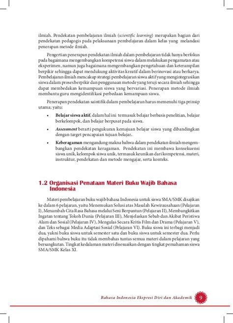 Buku Pendekatan Ilmiah Dalam Implementasi Kurikulum 2013 Abdul M Pr buku pegangan guru bahasa indonesia sma kelas 11 kurikulum 2013 mate