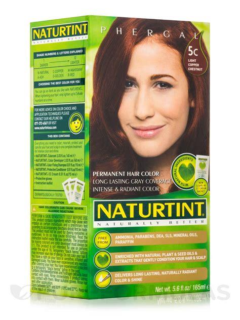Naturtint Permanent Hair Color 5c Light Copper Chestnut 150ml 5c light copper chestnut 5 6 fl oz 165 ml