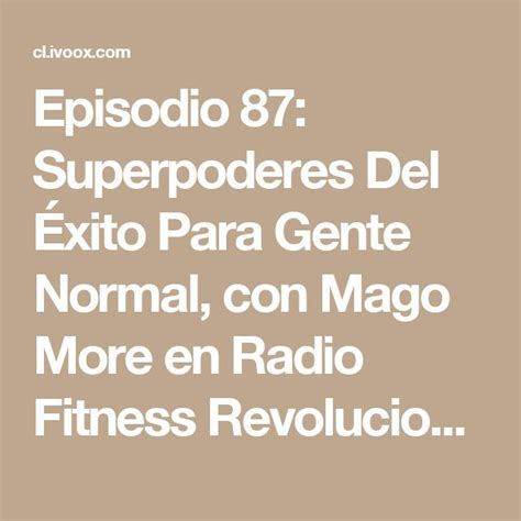 superpoderes del xito para 8416253129 303 best images about fitness revolucionario on mindfulness sons and saunas