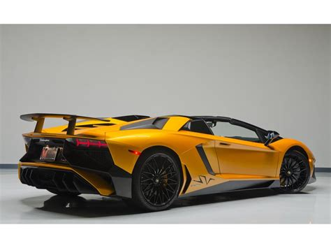 lamborghini aventador sv roadster autotrader lamborghini aventador lp 750 4 superveloce roadster listed for 799 995 autoevolution