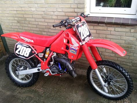 cr fir honda cr125 1989 jasper125 s bike check vital mx