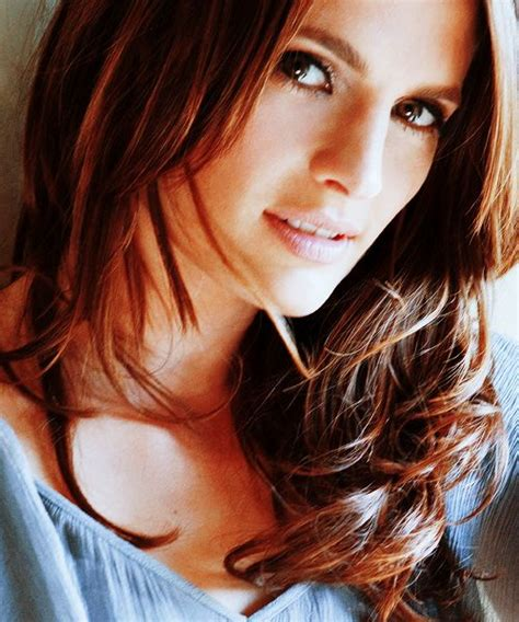 Stana Katic Hairstyles by 429 Best Stana Katic Images On Stana Katic