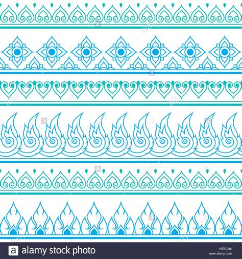 repetitive pattern en francais seamless thai pattern repetitive design from thailand