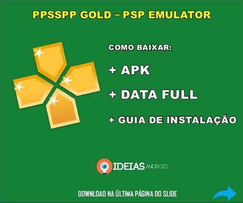 baixar designmantic download ppsspp gold apk roms completo
