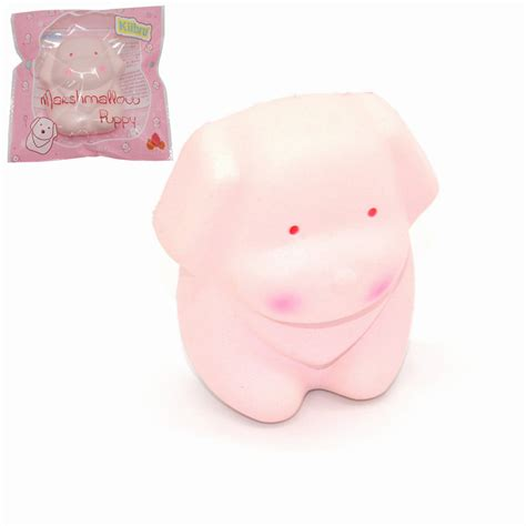 Soft And Slowrise Squishy Kiibru Rabbit Marshmallow kiibru squishy marshmallow puppy rising original packaging collection gift decor sale