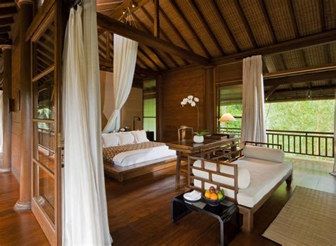 balinese bedroom design como shambhala estate bali wooden and white pavilion