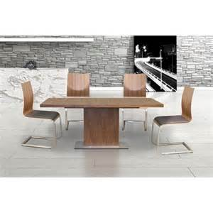 quot evita quot contemporary oak wooden modern extendable dining table