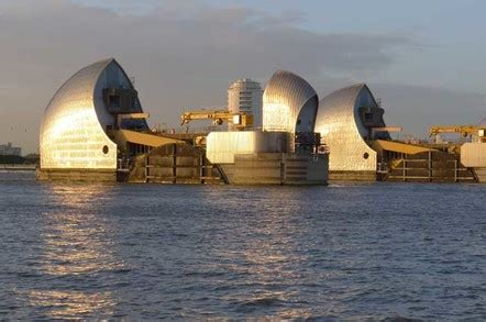 thames barrier number of times used the great barrier relief inside london s heavy metal and