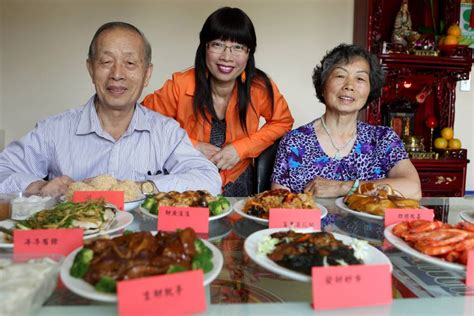 new year food preparation food integral in celebrations for lunar new year