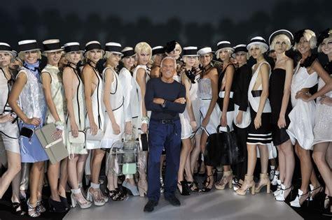 nazionale della moda italiana giorgio armani nella nazionale della moda italiana