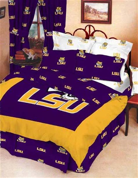 lsu bed set lsu bed in a box