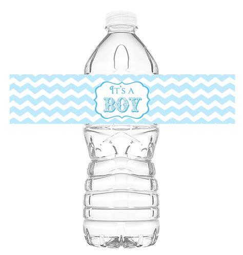 Baby Shower Bottle by It S A Boy Bottle Wraps 20 Baby Shower Water Bottle