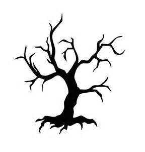 scary tree coloring coloring pages