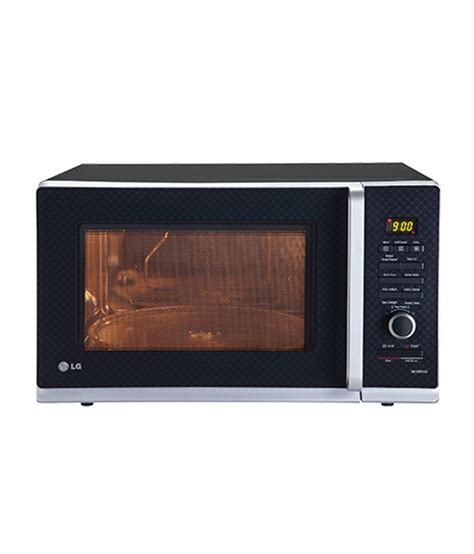 Lg Microwave Oven Convection lg 32 ltrs mc3283ag microwave oven convection microwave ovenblack checker price in india buy